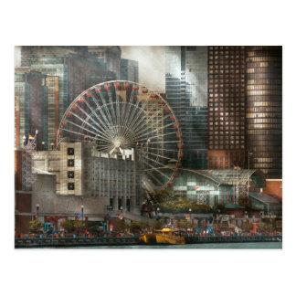 City - Chicago, IL - Pier Pressure Postcard