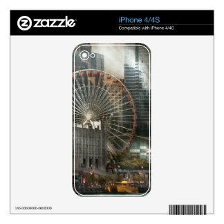 City - Chicago, IL - Pier Pressure Skin For iPhone 4