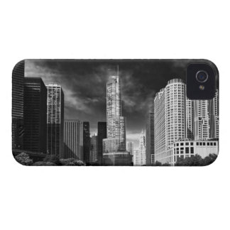 City - Chicago IL - Trump Tower BW Case-Mate iPhone 4 Case