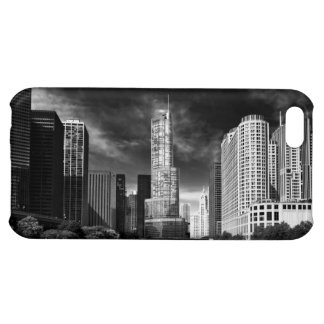 City - Chicago IL - Trump Tower BW Cover For iPhone 5C