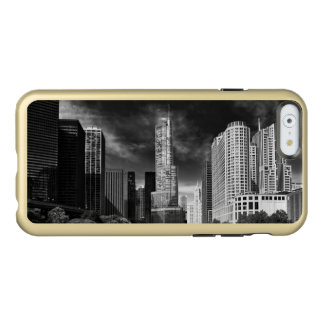 City - Chicago IL - Trump Tower BW Incipio Feather Shine iPhone 6 Case