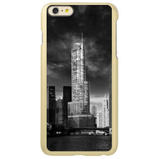 City - Chicago IL - Trump Tower BW Incipio Feather Shine iPhone 6 Plus Case