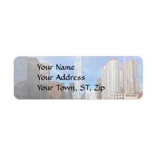 City - Chicago IL - Trump Tower Label