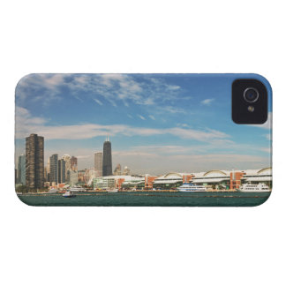 City -  Chicago Skyline & The Navy Pier Case-Mate iPhone 4 Case