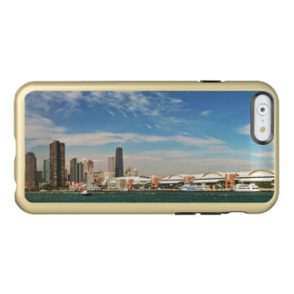 City -  Chicago Skyline & The Navy Pier Incipio Feather Shine iPhone 6 Case