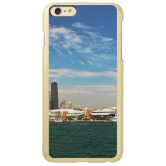 City -  Chicago Skyline & The Navy Pier Incipio Feather Shine iPhone 6 Plus Case