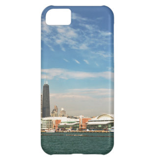 City -  Chicago Skyline & The Navy Pier iPhone 5C Cover