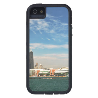 City -  Chicago Skyline & The Navy Pier iPhone SE/5/5s Case