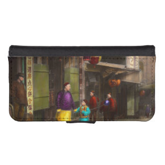 City - Chinatown - Visiting the commomers 1896-06 Phone Wallets