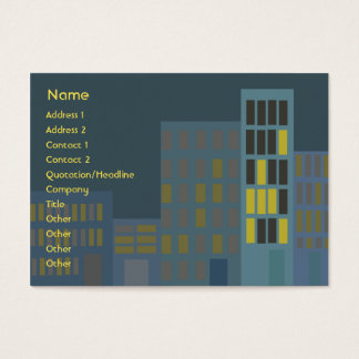 City - Chubby Business Card