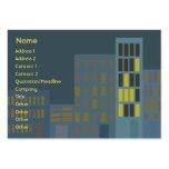City - Chubby Business Card Templates