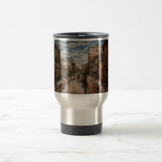 City Cincinnati OH - Tyler Davidson Fountain 1907 Travel Mug