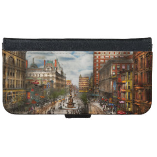 City Cincinnati OH - Tyler Davidson Fountain 1907 Wallet Phone Case For iPhone 6/6s