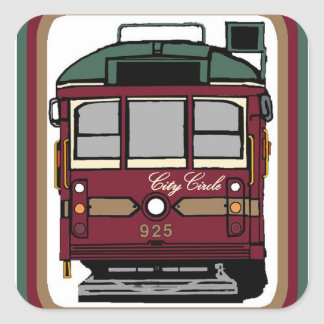 City Circle Tram Stickers