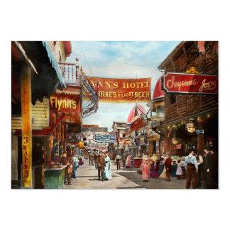 City - Coney Island NY - Bowery Beer 1903 Card