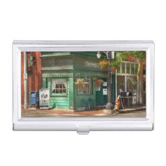 City - Corning NY - Donna's Restaurant Business Card Case