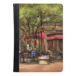 City - Corning NY - Lunch at Centerway Square iPad Air Case
