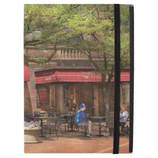 """City - Corning NY - Lunch at Centerway Square iPad Pro 12.9"""" Case"""