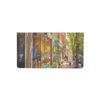 City - Corning NY - Market Street Coffee & Tea Checkbook Cover