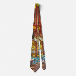 City - Corning NY - Market Street Coffee & Tea Neck Tie