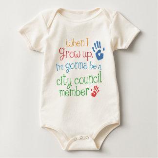 City Council Member (Future) Infant Baby T-Shirt