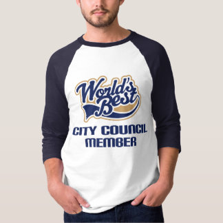 City Council Member Gift (Worlds Best) T-Shirt