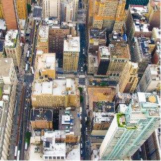 city cutout