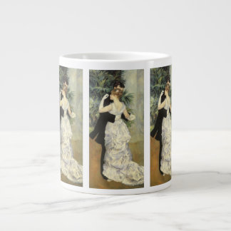 City Dance by Pierre Renoir, Vintage Fine Art Large Coffee Mug