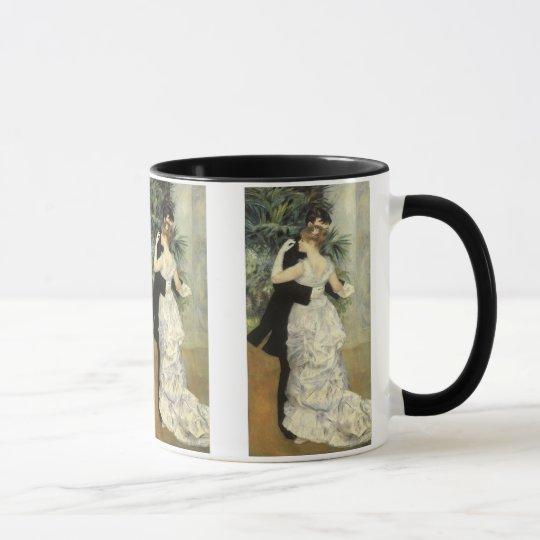 City Dance by Pierre Renoir, Vintage Fine Art Mug