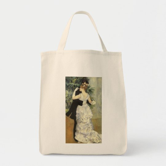 City Dance by Pierre Renoir, Vintage Fine Art Tote Bag