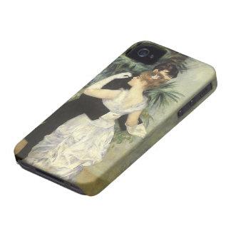 City Dance by Renoir, Vintage Impressionism Art iPhone 4 Cover