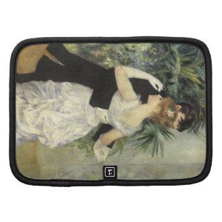 City Dance by Renoir, Vintage Impressionism Art Folio Planners