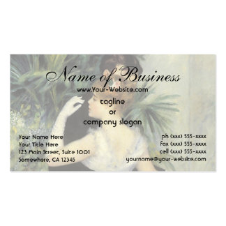 City Dance by Renoir, Vintage Wedding Portrait Business Card