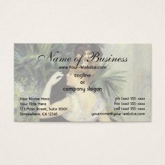 City Dance by Renoir, Vintage Wedding Portrait Business Card