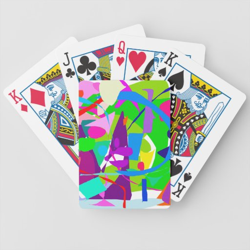City Daytime Work Business Number Pyramid Deck Of Cards