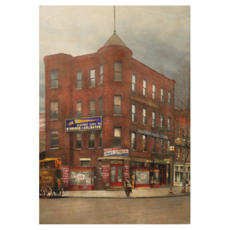 City - DC - Candy, Cigars, Souvenirs 1920 Wood Poster