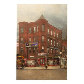 City - DC - Candy, Cigars, Souvenirs 1920 Wood Wall Art