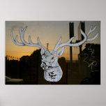 City Deer Posters