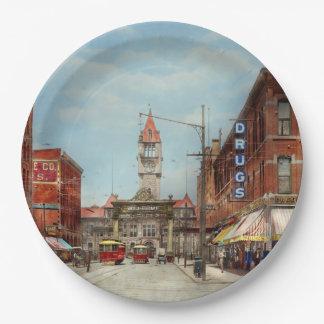 City - Denver Colorado - Welcome to Denver 1908 Paper Plate