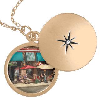 City - Edison NJ - Pino's basket shop Gold Plated Necklace