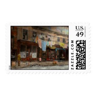 City - Elegant Apartments - 1912 Postage Stamp