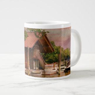 City - Every town needs a foundation Giant Coffee Mug