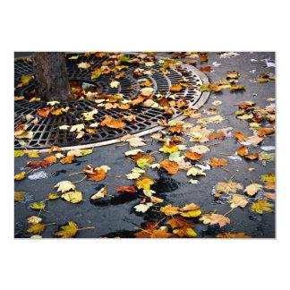City fall card