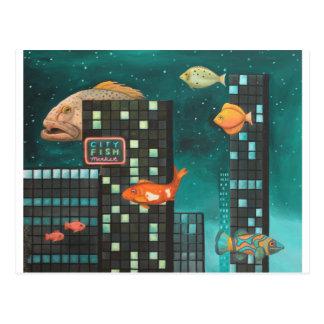 City Fish Postcard