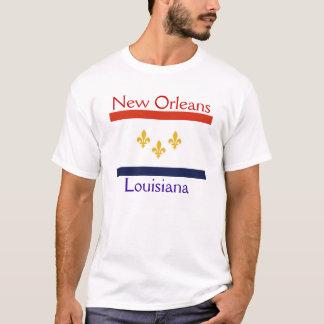 CITY FLAG NEW ORLEANS LOUISIANA T-Shirt