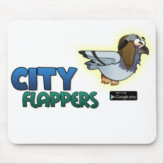 """City Flappers """"Pigeon"""" mouse pad"""