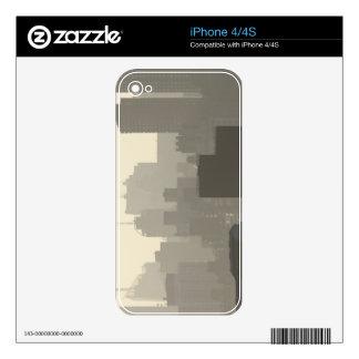 City Fog iPhone 4 Skin