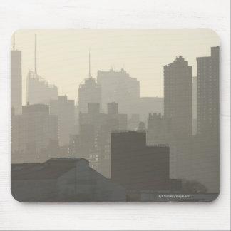 City Fog Mouse Pad