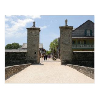City Gate Saint Augustine Florida Postcard