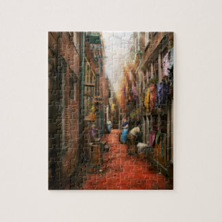 City - Germany - Alley - The other half 1904 Jigsaw Puzzle